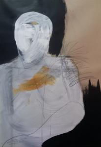 La ville – tech. mixte sur papier (70x50cm) 2013 (Dessins)