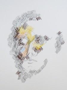 Le visage – crayon sur papier (29x21cm) 2010 (Dessins)