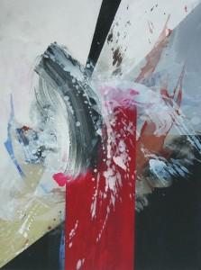Cruciformité – acrylique sur toile (50x70cm) 2008 (Espaces Cruciformes)