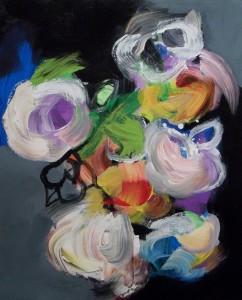Floralies – acrylique sur toile (75x60cm) 2014 (Floralies)