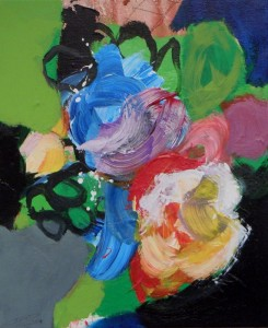 Floralies – acrylique sur toile (60x50cm) 2014 (Floralies)