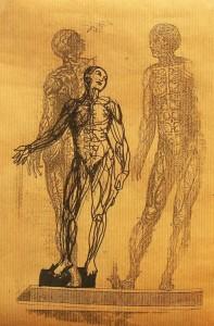 Anatomie de l'âme – mixte sur papier (30x21cm) 2006 (Anatomie de l'âme)
