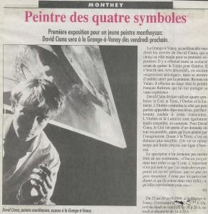 Nouvelliste 13 avril 1994 (Articles presse)