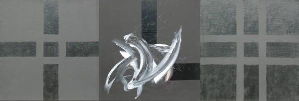 Cruciformité – acrylique sur toile (60x180cm) 2005 (Triptyques)