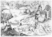 Fainéantise – encre de Chine sur papier (70x100cm) 2016 (Ad Narragoniam)
